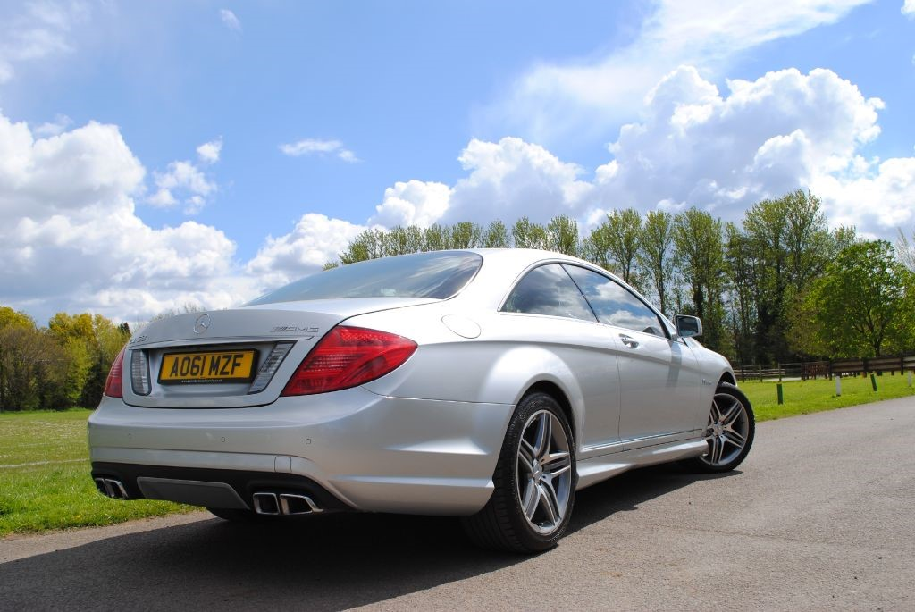 used iridium silver mercedes cl63 amg for sale hampshire. Black Bedroom Furniture Sets. Home Design Ideas