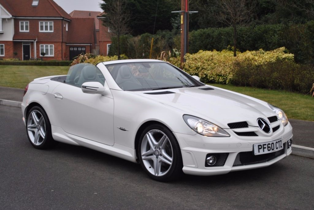 used calcite white mercedes slk for sale hampshire. Black Bedroom Furniture Sets. Home Design Ideas