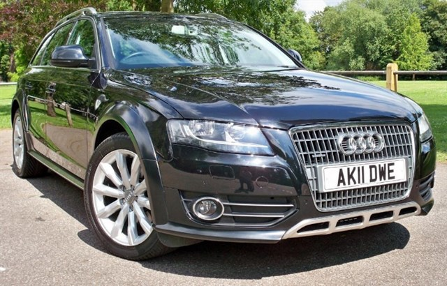used Audi A4 allroad Tdi Allroad [170] (SAT NAV+ !! LEATHER !!) in chertsey-surrey