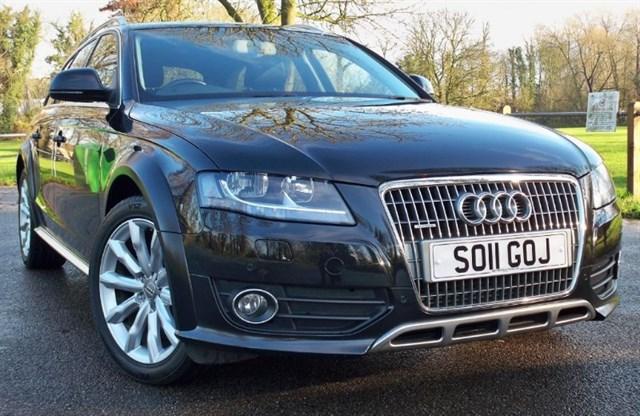 used Audi A4 allroad Tdi Quattro [170] (LEATHER !! SAT NAV+ !!) in chertsey-surrey
