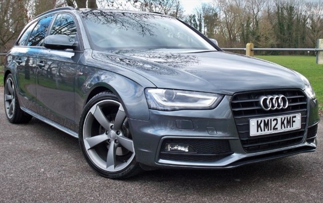 used Audi A4 Avant Tdi S-Line Black Edition [177] (RARE CAR !!) in chertsey-surrey