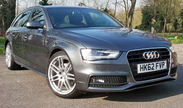 used Audi A4 Avant Tdi S-Line [177] (RARE CAR !! HUGE SPEC !!) in chertsey-surrey