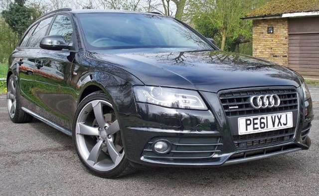 used Audi A4 Avant Tdi Quattro Black Edition [170] (RARE CAR !! SAT NAV+ !!) in chertsey-surrey