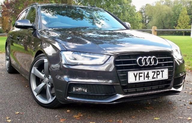 used Audi A4 Avant Tdi S-Line Black Edition [177] (HUGE SPEC !!) in chertsey-surrey