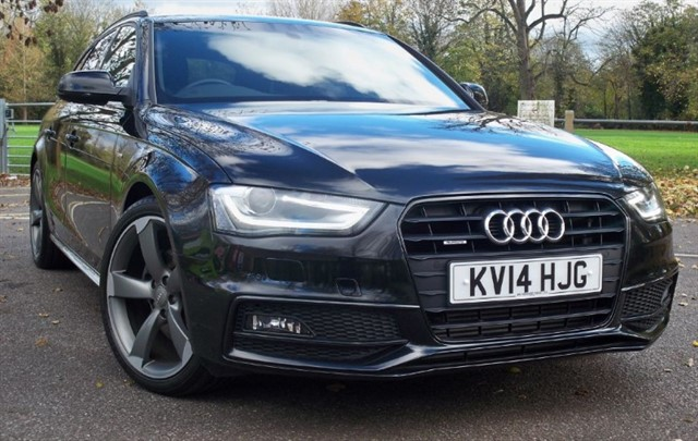 used Audi A4 Avant Tdi Quattro S Line Black Edition [177] (HUGE SPEC !!) in chertsey-surrey