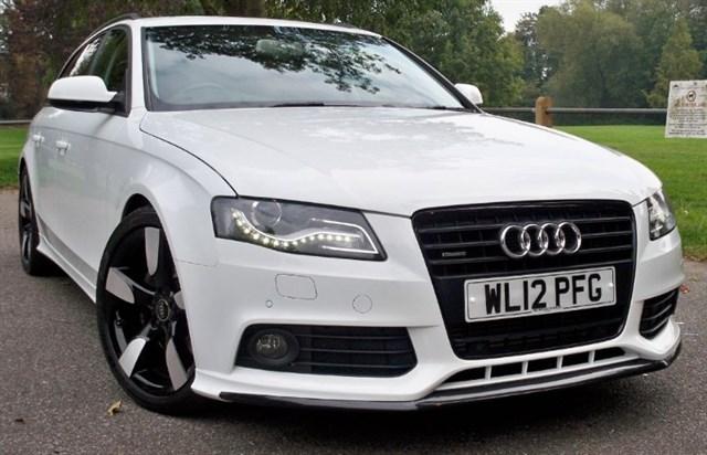 used Audi A4 Avant T FSi Quattro Dynamik [211] (RARE CAR !! SAT NAV+ !!) in chertsey-surrey
