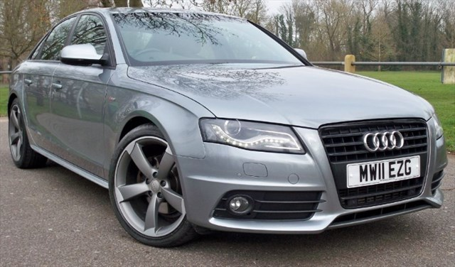 used Audi A4 Tdi S-Line Black Edition [143] (V. RARE AUTO !!) in chertsey-surrey