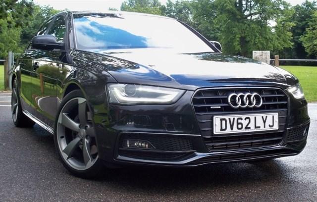 used Audi A4 Tdi Quattro S-Line Black Edition [245] (SAT NAV+ ! HUGE SPEC !) in chertsey-surrey