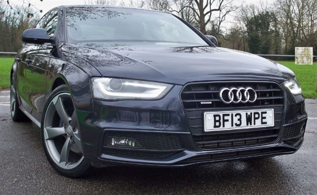 used Audi A4 Tdi Quattro S Line Black Edition [245] (RARE CAR !!) in chertsey-surrey