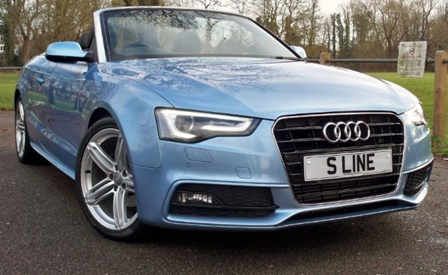 used Audi A5 Tdi S-Line Special Edition [177] (HUGE SPEC !! SAT NAV+ !!) in chertsey-surrey