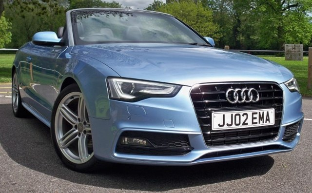 used Audi A5 Tdi S-Line Special Edition [177] (HDD SAT NAV+ ! HUGE SPEC !) in chertsey-surrey
