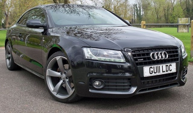 used Audi A5 Tdi Quattro S-Line Black Edition [170] (RARE CAR !!) in chertsey-surrey