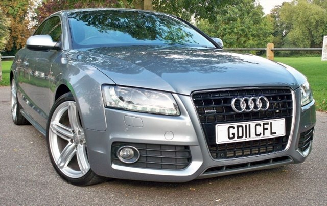 used Audi A5 Tdi Quattro S-Line Special Edition [240] (HUGE SPEC !!) in chertsey-surrey