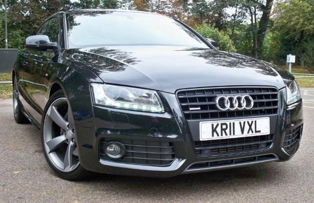 used Audi A5 Tdi Quattro S-Line Black Edition [240] (HUGE SPEC !!) in chertsey-surrey