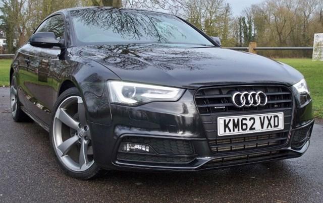 used Audi A5 Tdi Quattro S-Line Black Edition [245] (HDD SAT NAV+ !!) in chertsey-surrey