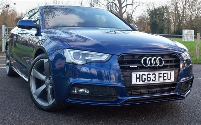 used Audi A5 Tdi Quattro S Line Black Edition [177] (HUGE SPEC !!) in chertsey-surrey