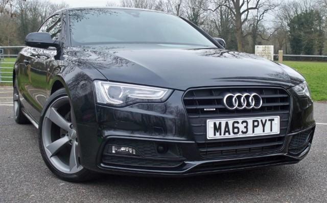 used Audi A5 Tdi Quattro S Line Black Edition [245] (HUGE, HUGE SPEC !!) in chertsey-surrey