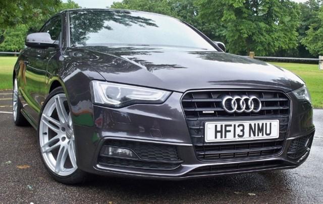 used Audi A5 Tdi Quattro S Line Black Edition [245] (HUGE SPEC !!) in chertsey-surrey