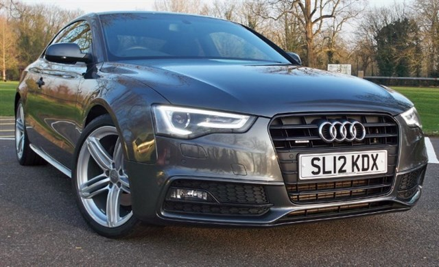 used Audi A5 T FSi Quattro S-Line Black Edition [211] (READ THIS AD !!) in chertsey-surrey