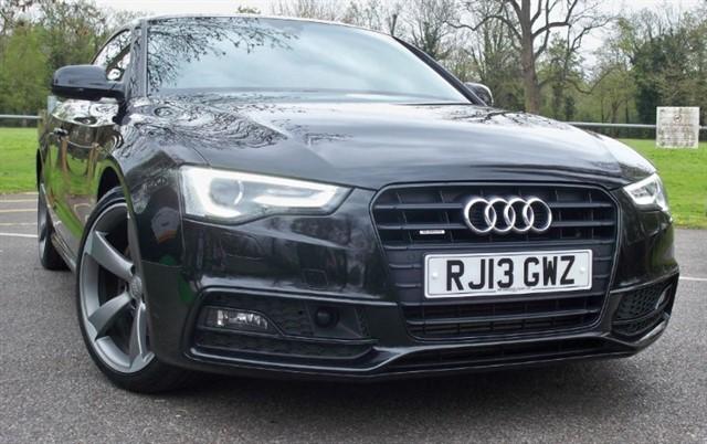 used Audi A5 T FSi Quattro S Line Black Edition [225] (RARE QUATTRO !!) in chertsey-surrey
