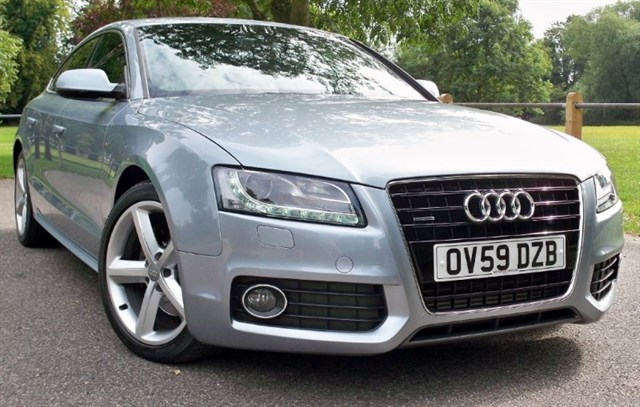 used Audi A5 Tdi Sportback Quattro S-Line [240] (HUGE SPEC !!) in chertsey-surrey