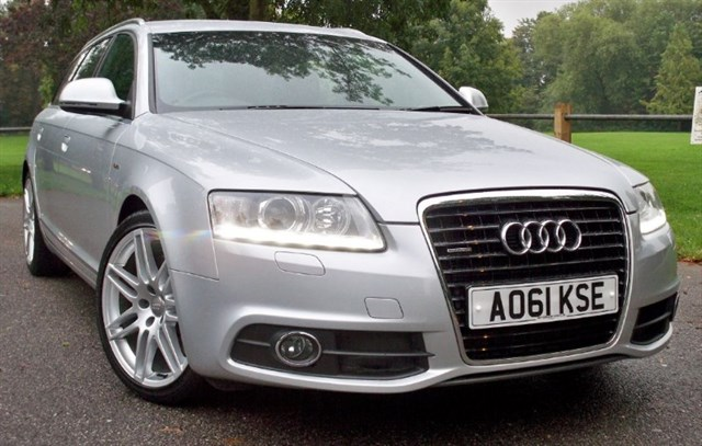 used Audi A6 Avant Tdi Quattro S-Line Special Edition [240] (SAT NAV+ !!) in chertsey-surrey