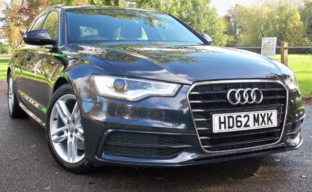used Audi A6 Avant Tdi S-Line [177] (SAT NAV+ !!) in chertsey-surrey
