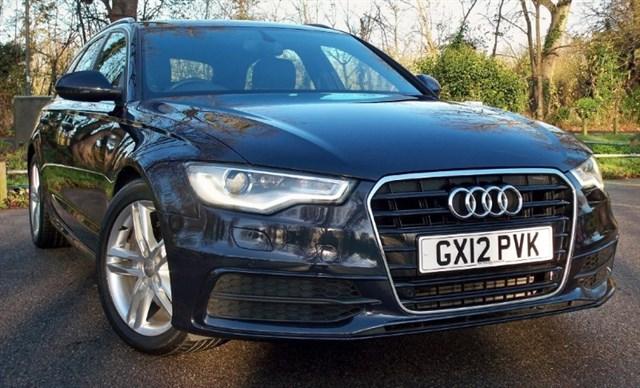 used Audi A6 Avant Tdi S-Line [177] (NEW SHAPE !! SAT NAV+ !!) in chertsey-surrey