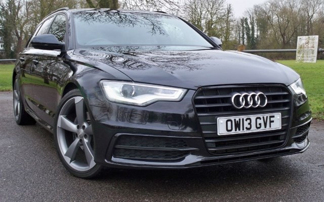 used Audi A6 Avant Tdi S-Line Black Edition [177] (BEST YOU WILL SEE !!) in chertsey-surrey