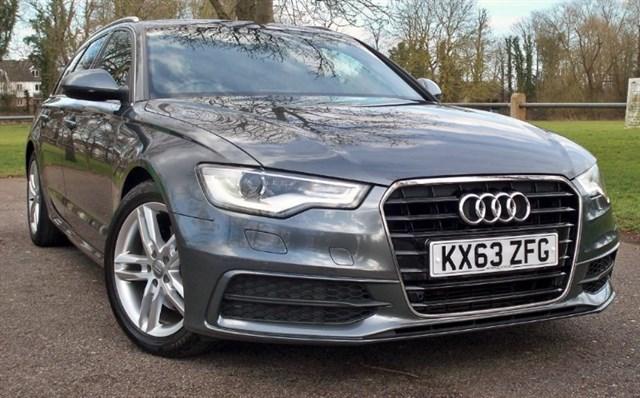 used Audi A6 Avant Tdi S-Line [177] (SAT NAV+ !! LEATHER !!) !!) in chertsey-surrey