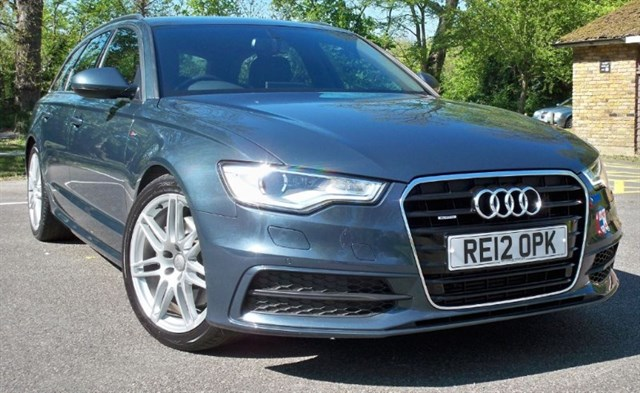 "used Audi A6 Avant Tdi Quattro S-Line [245] (19"" ALLOYS !! HDD SAT NAV+ !!) in chertsey-surrey"