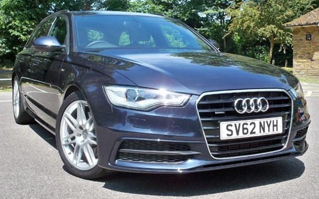 used Audi A6 Avant Tdi Quattro S-Line [245] (JUST 15000 MILES !!) in chertsey-surrey