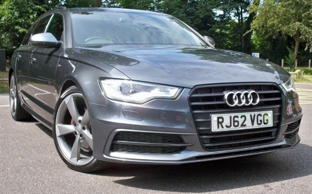 used Audi A6 Avant Tdi S-Line Black Edition [177] (STUNNING CAR !!) in chertsey-surrey