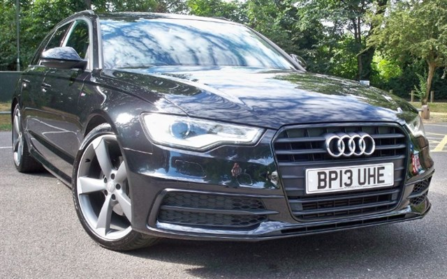 used Audi A6 Avant Tdi S-Line Black Edition [177] (SUPERB EXAMPLE !!) in chertsey-surrey
