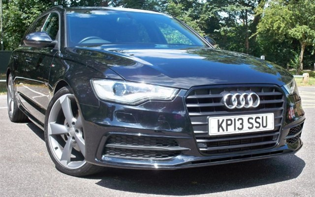used Audi A6 Avant Tdi S-Line Black Edition [177] (SAT NAV+ !! GREAT SPEC !!) in chertsey-surrey