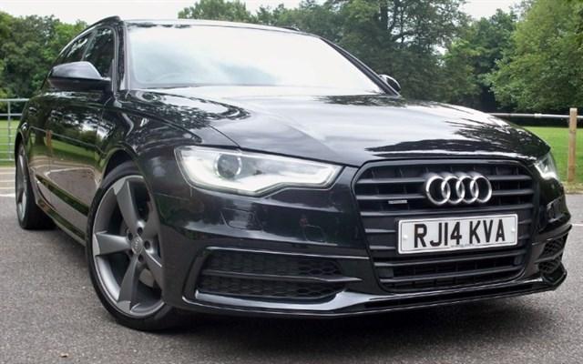 used Audi A6 Avant Tdi Quattro S-Line Black Edition [245] (BEAUTIFUL !!) in chertsey-surrey