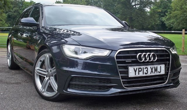 "used Audi A6 Avant Tdi Quattro S-Line BiTdi [313] (PAN ROOF !! 20"" ALLOYS !!) in chertsey-surrey"