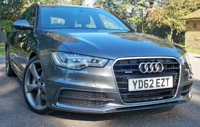 "used Audi A6 Avant Tdi Quattro S-Line BiTdi [313] (HUGE SPEC !! 20"" ALLOYS !!) in chertsey-surrey"