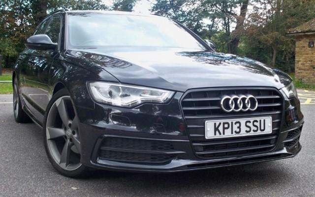 used Audi A6 Avant Tdi S Line Black Edition [177] (SAT NAV+ !! GREAT SPEC !!) in chertsey-surrey