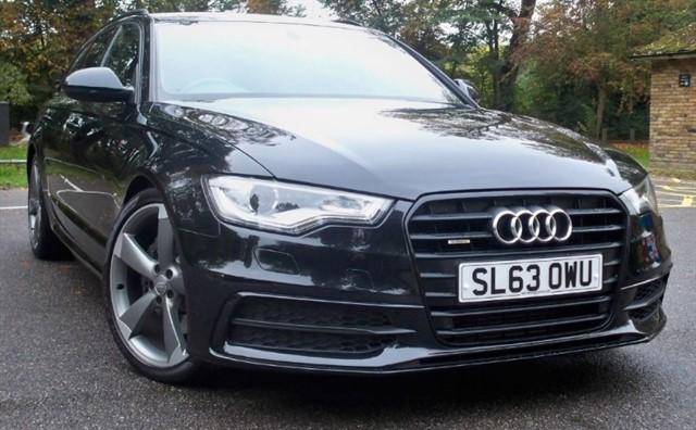 "used Audi A6 Avant Tdi Quattro S Line [245] (SAT NAV+ !! 20"" ALLOYS !!) in chertsey-surrey"