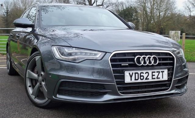 "used Audi A6 Avant BiTdi Quattro S Line [313] (HUGE SPEC !! 20"" ALLOYS !!) in chertsey-surrey"