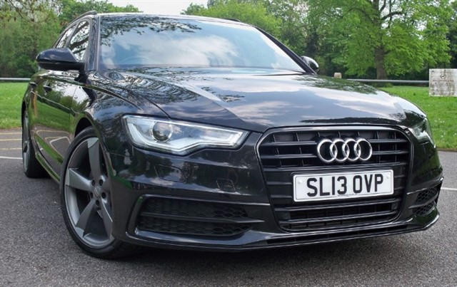 used Audi A6 Avant Tdi S Line Black Edition [177] (JUST STUNNING !!) in chertsey-surrey