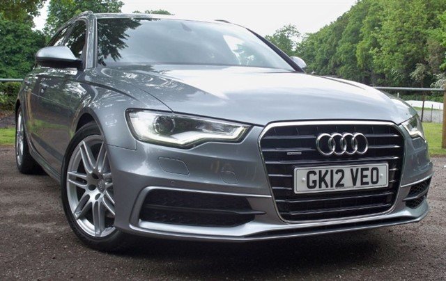 "used Audi A6 Avant Tdi Quattro S Line [245] (19"" ALLOYS !! SAT NAV+ !!) in chertsey-surrey"