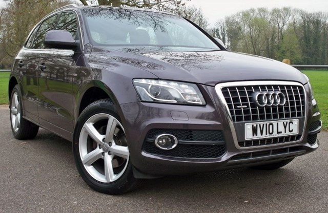 used Audi Q5 Tdi Quattro S-Line [170] (GREAT SPEC !! LOW MILES !!) in chertsey-surrey