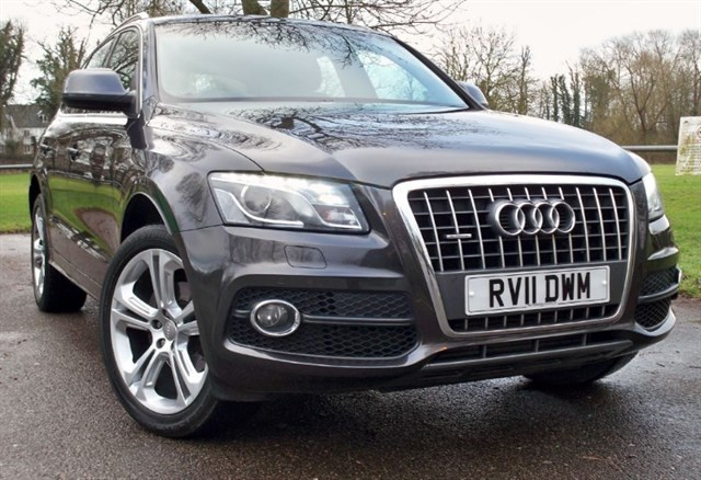 used Audi Q5 Tdi Quattro S-Line Special Edition [170] (GREAT SPEC !!) in chertsey-surrey