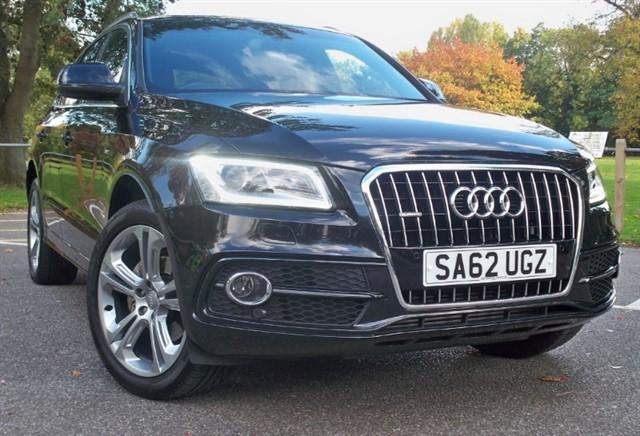 used Audi Q5 Tdi Quattro S Line Plus [177] (SAT NAV+ !! FACELIFT !!) in chertsey-surrey