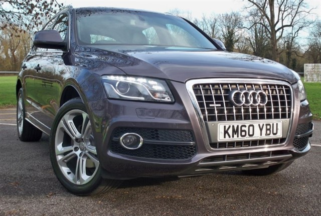 used Audi Q5 Tdi Quattro S Line Special Edition [170] (GREAT SPEC !! LOW MILES !!) in chertsey-surrey