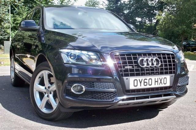 used Audi Q5 V6 FSi Quattro S-Line [250] (SAT NAV+ !! FULL LEATHER !!) in chertsey-surrey