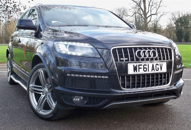 used Audi Q7 Tdi Quattro S Line Plus (8) [245] (READ THIS AD !!) in chertsey-surrey