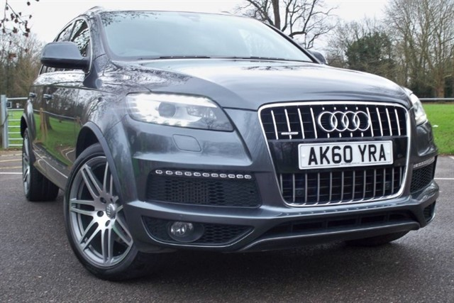 used Audi Q7 Tdi Quattro S Line (8) [245] (READ THIS AD !!) in chertsey-surrey